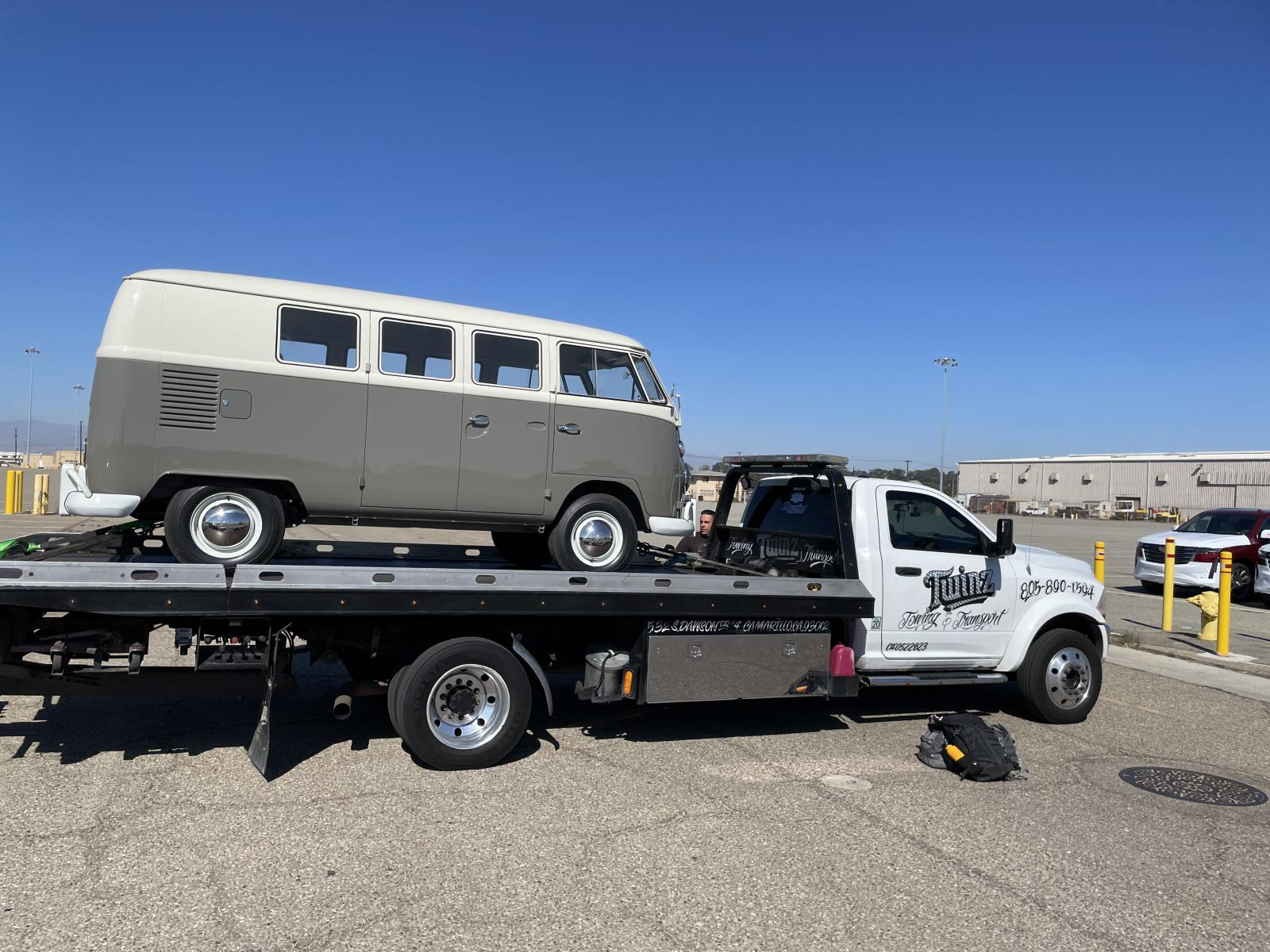 Vw Bus Tow