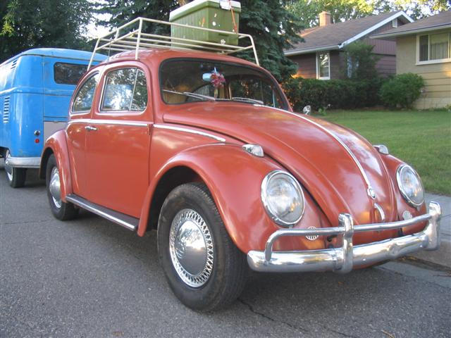 1960 India Red Beetle