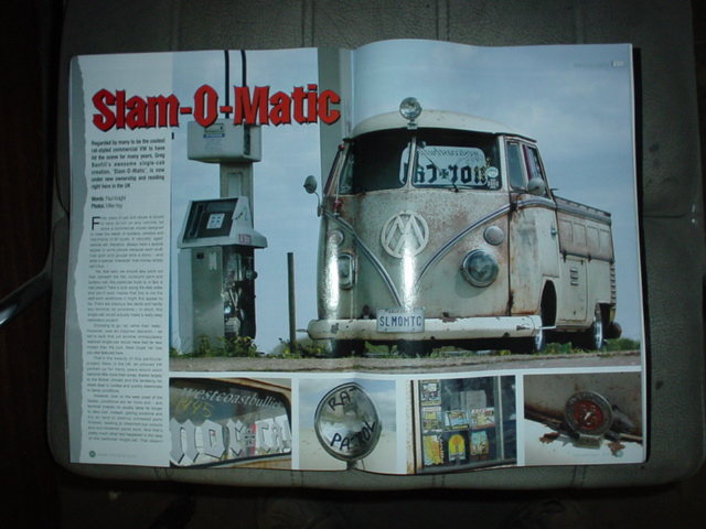 Slam-O-Matic gets the COVER of Ultra VW