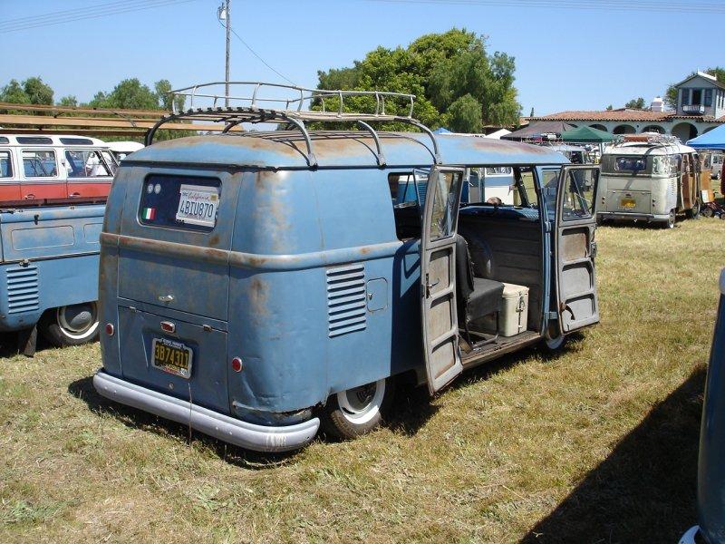 Lowered '55 Kombi