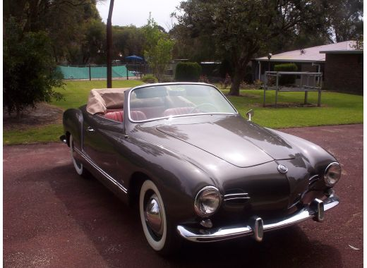 58 Karmann Ghia Convertible