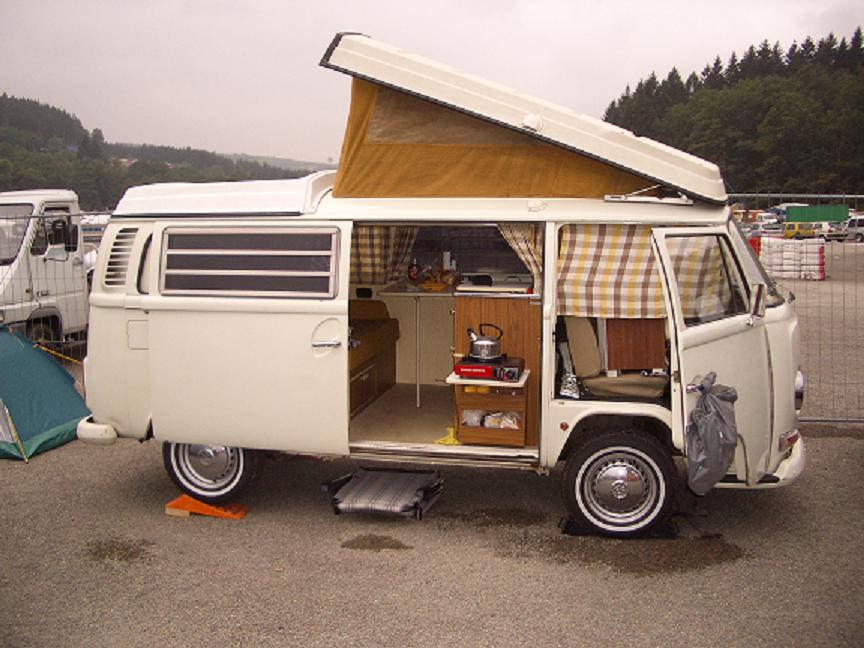 My '72 westy at Spa Francorchamps 2005