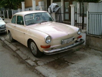 VW Type 3 Notchback from Serbia