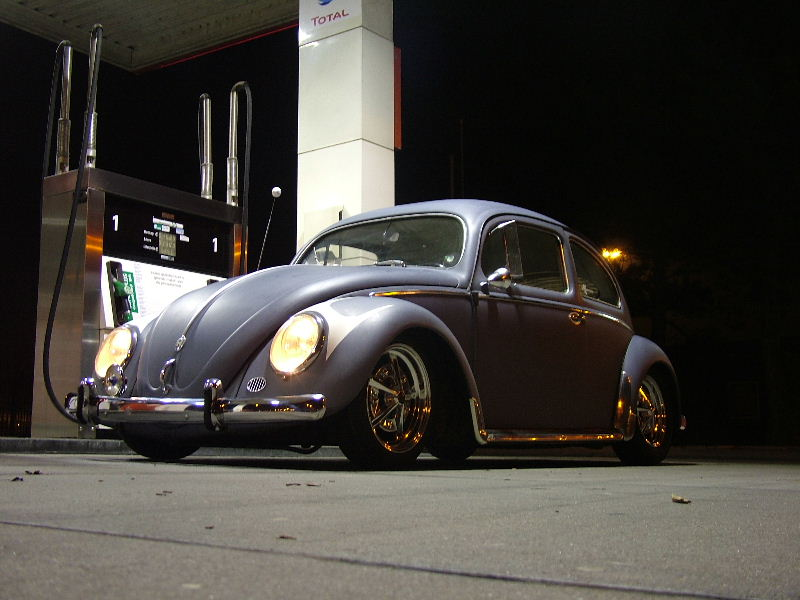 My '55 on Raders, fillin' her up !