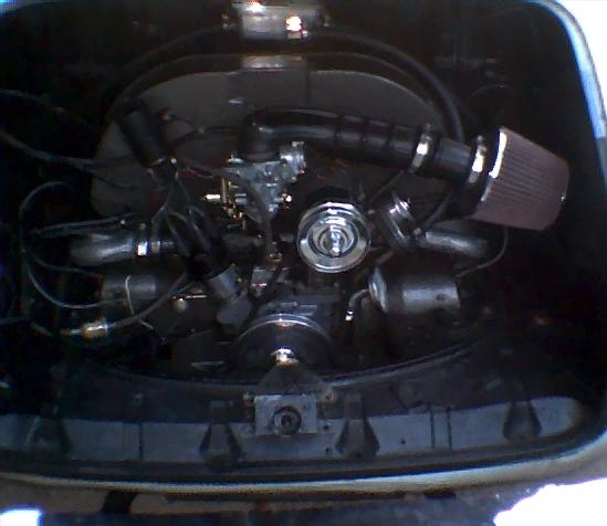 '72 ghia engine