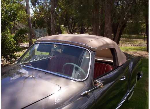 1958 Karmann Ghia Convertible