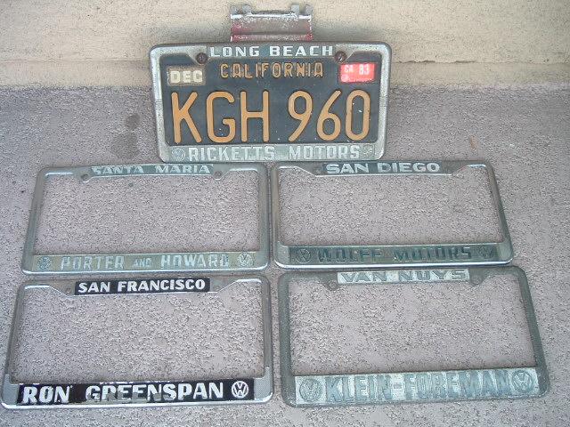 Restojohnny's License plate frame score 3/5/06
