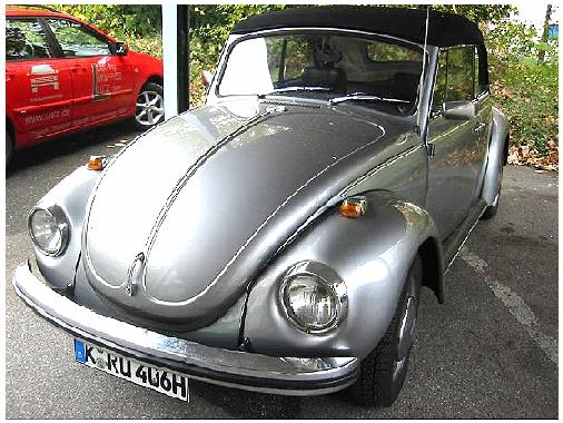 1302 Convertible stolen in Cologne / Germany