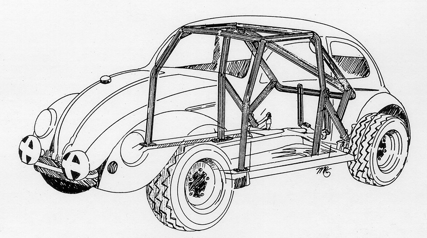 Thesamba Com Hbb Off Road View Topic Roll Cage Plans