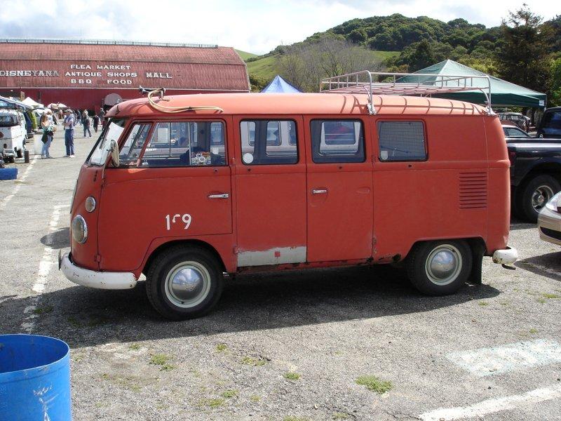 Fire Truck Double Door Kombi