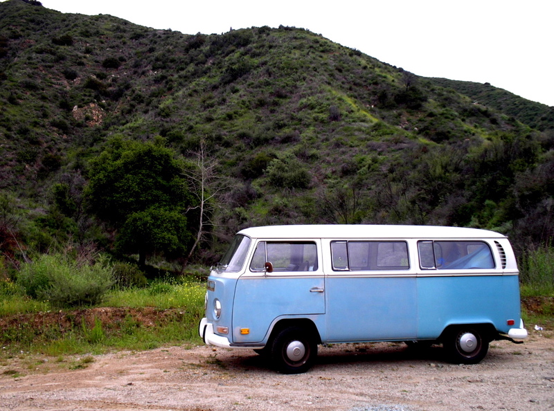 71 Niagra Blue, E. Fork San Gabriel River Road