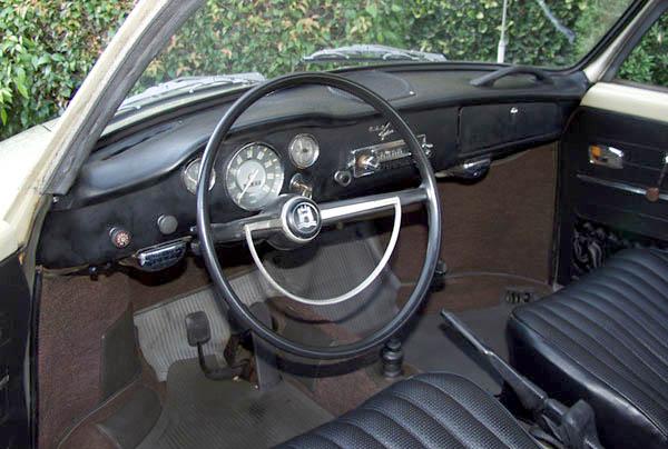 '67 Karmann Ghia Interior