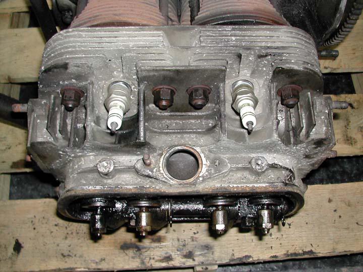 '62 engine teardown