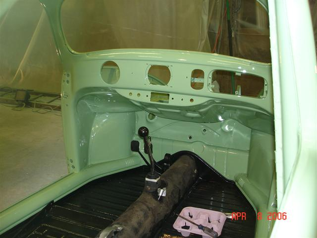 Oval Dash Painted