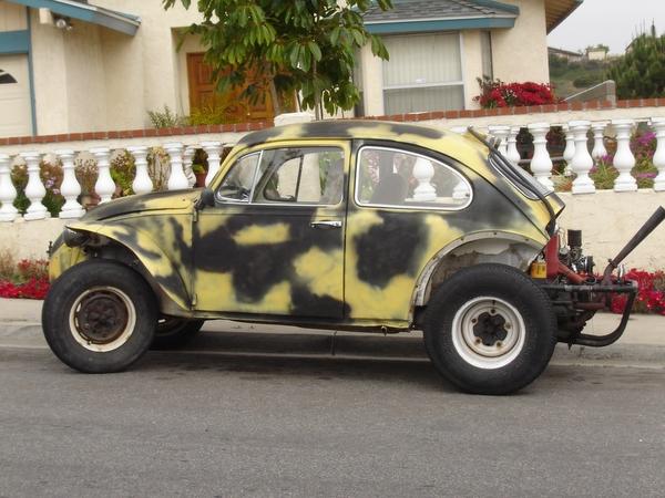 '67 baja bug stolen in San Diego
