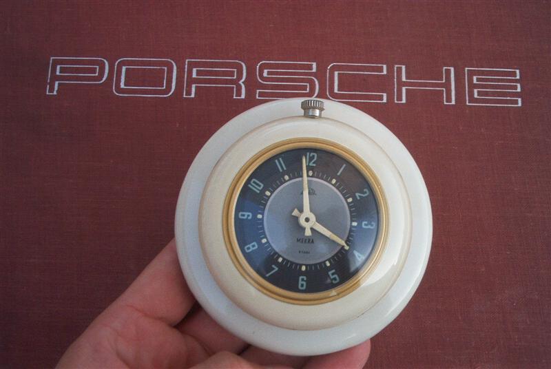 Ultimate clock collection porsche 356, barndoor & split bug rare.
