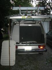 Telescoping VW tent pole