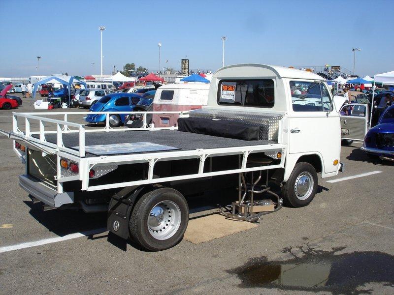 TheSamba com :: Bay Window Bus - View topic - Bus to Single Cab