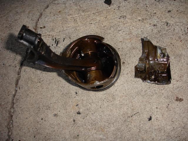broken piston