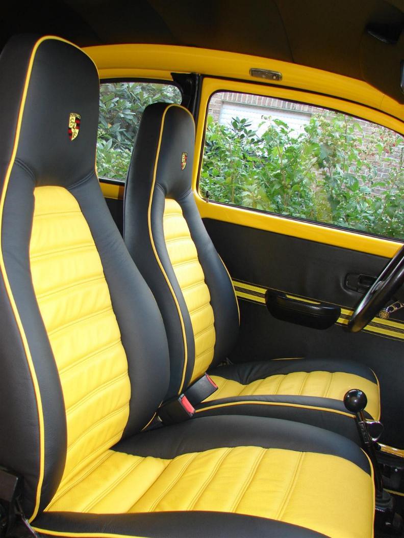 installed some nice Porsche seats in my super