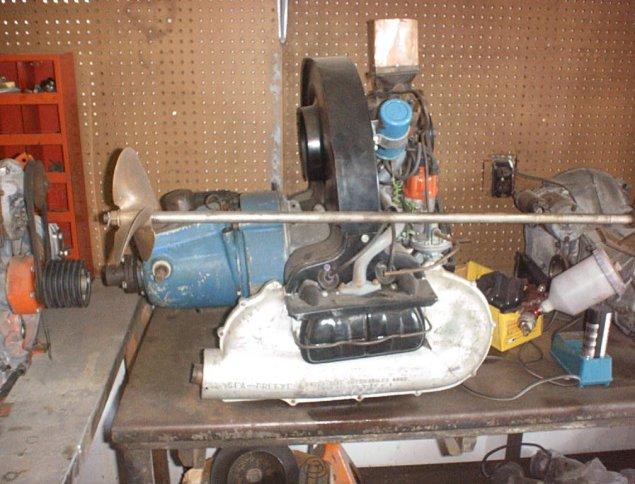 Water Bug Boat Moat Motor