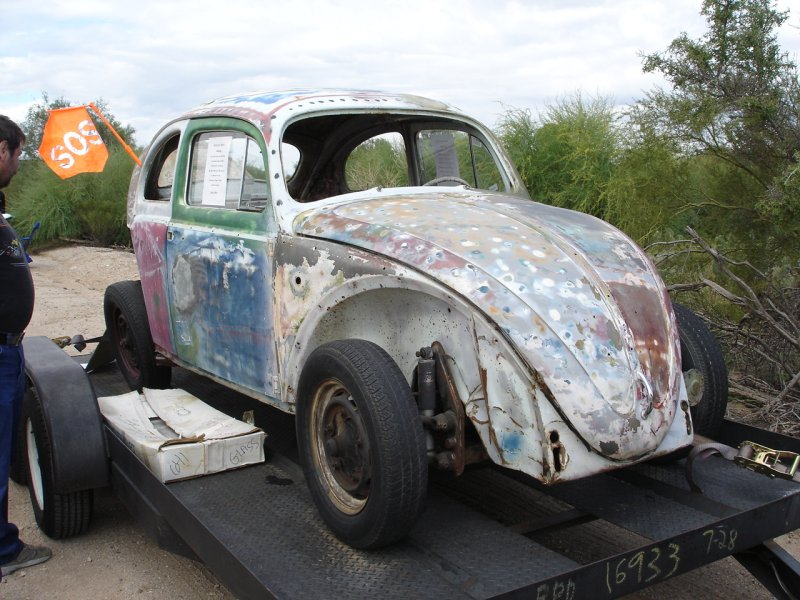 '60 Beetle for sale at the show