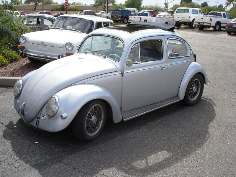 Silver Oval Ragtop