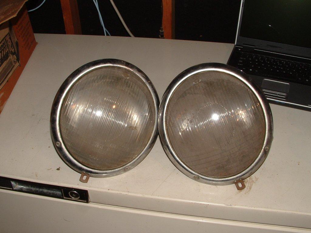 Early Euro  Head lights