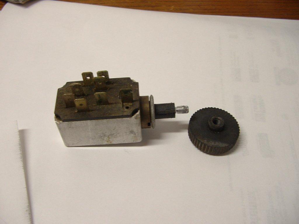 69 T-3 headlight switch