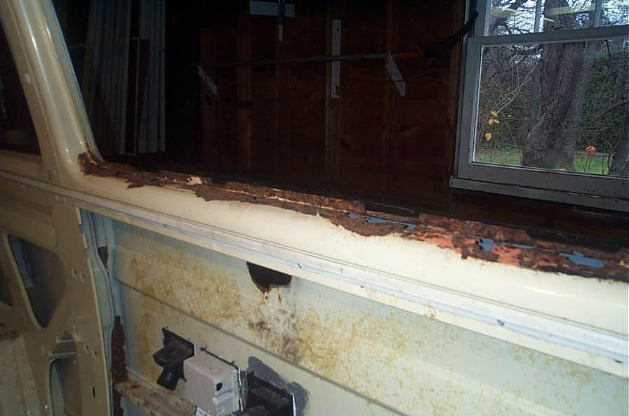 Window Skin Rust