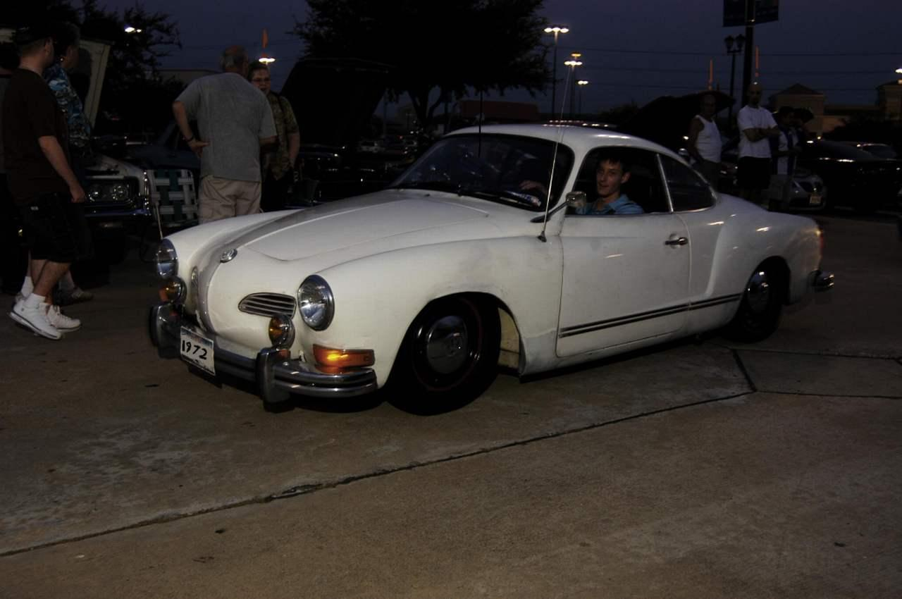 me in my '72 at Otto's BBQ sat. night car show, Houston