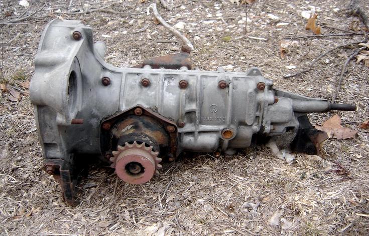 vw transmission model number
