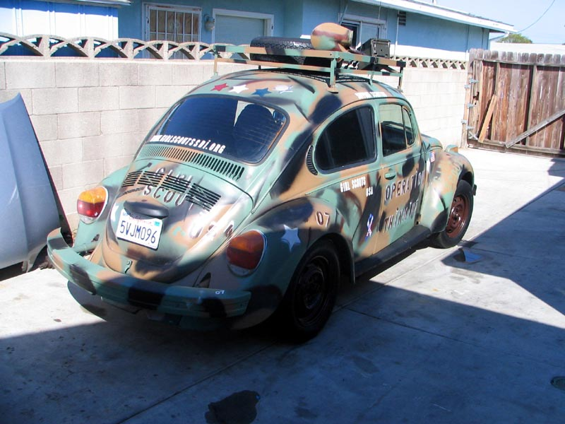 The Girl Scouts have got the Bug!