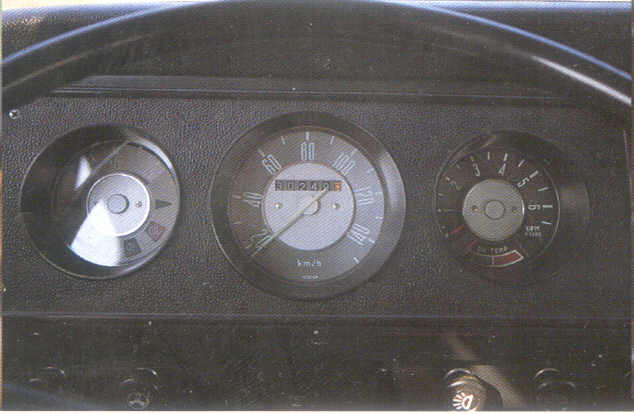 1968~79 VW Type 2, ONG, combined tachometer & oil-temperature indicator