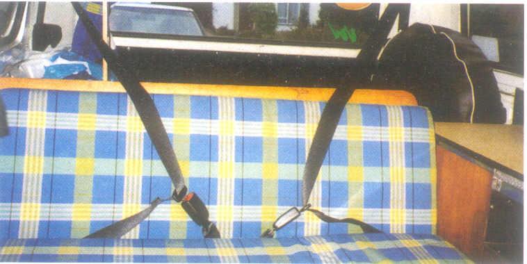 Securon Lap Seat Belt For Can Van Coach Mini Bus