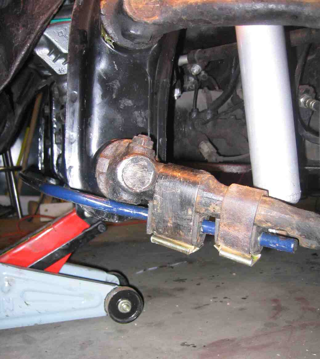 Vw Beetle Engine Install: Anti-sway Bar Install