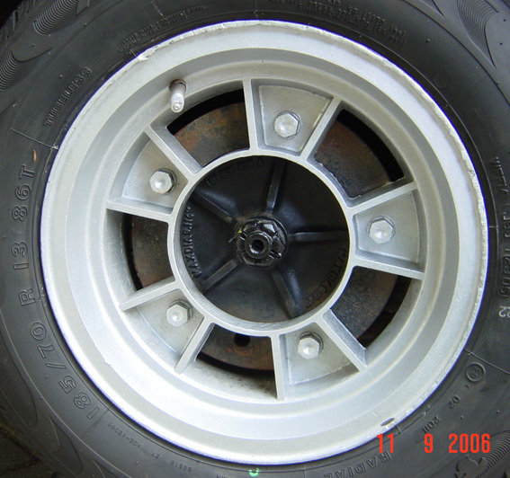 "Wide 5, 6x13"" alloys..."