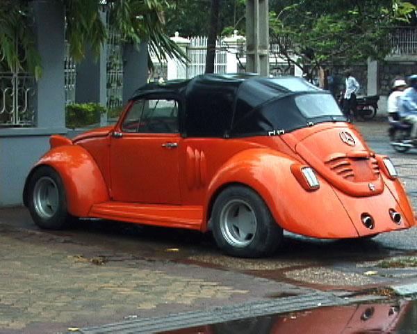 Cambodian Mercedes-Vagon