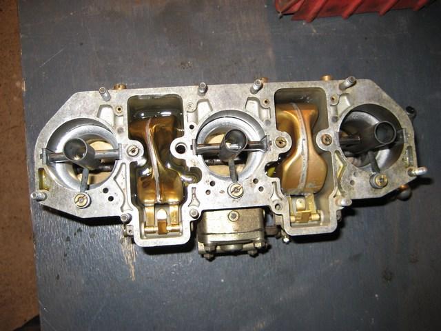 Porsche Weber carburetor inside alarm