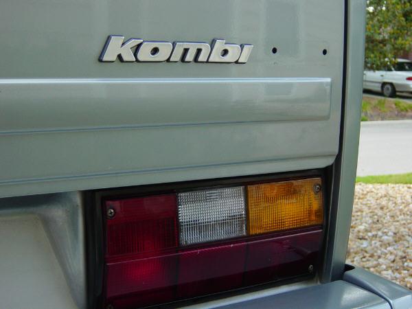 Kombi badge