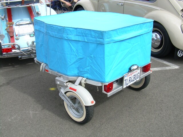 Accessory Besco trailer at VW Classic