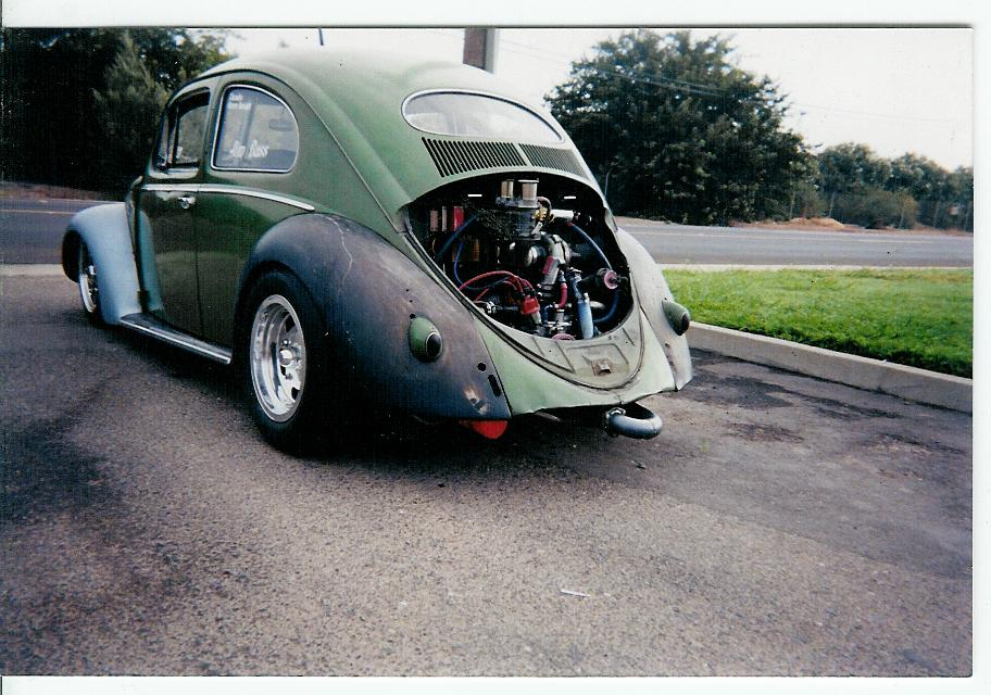 54 oval green machine