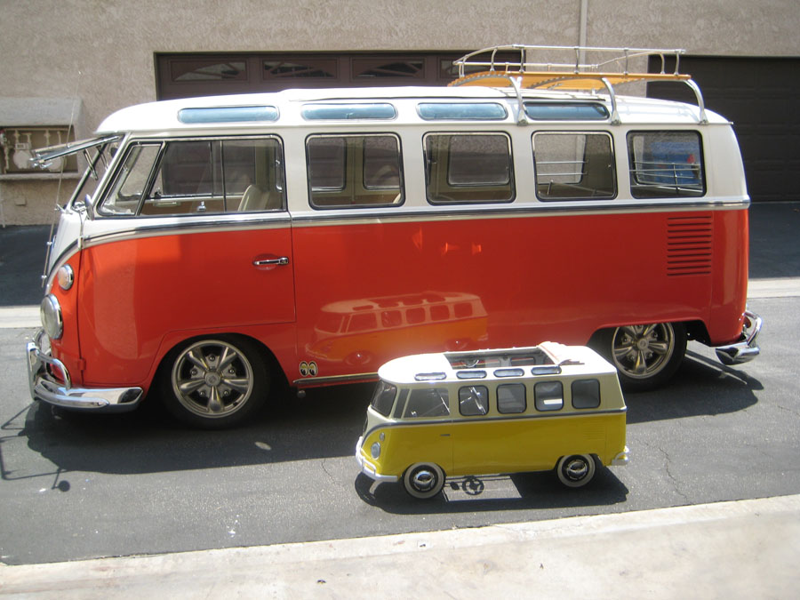 split bus view topic vw bus pedal car. Black Bedroom Furniture Sets. Home Design Ideas