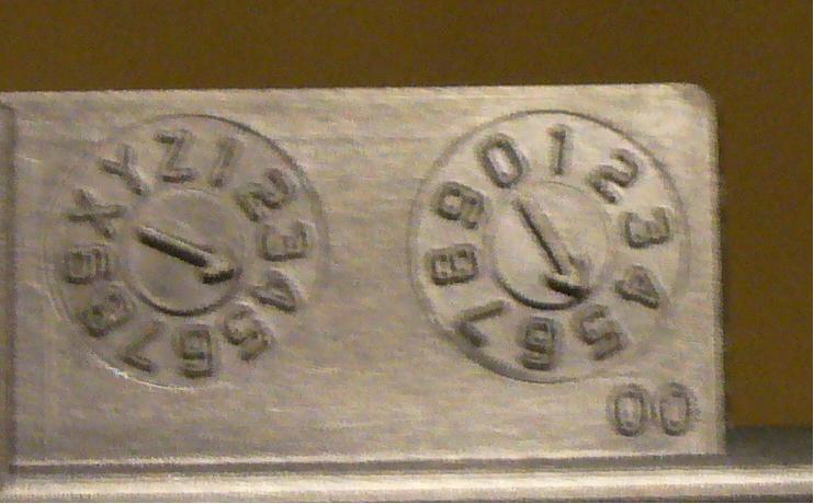Plastic date code
