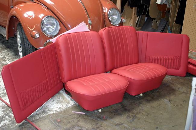 D&S Leather interior