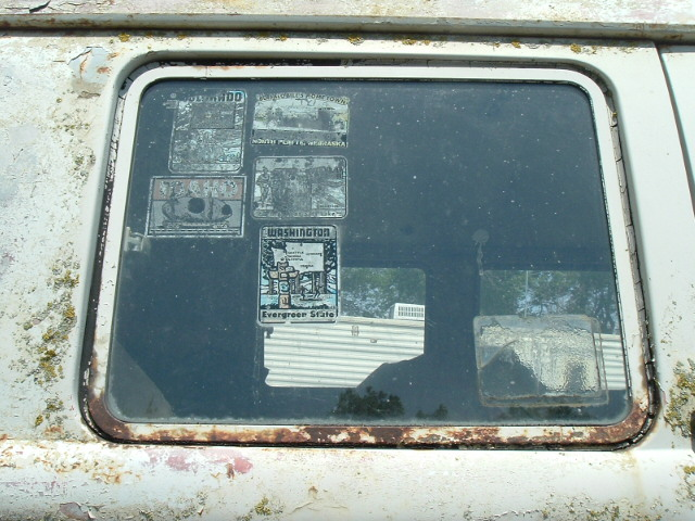Cool window found on a '64 standard
