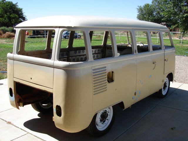 TheSamba com :: Body/Paint - View topic - painting 63 bus
