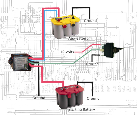 412798 thesamba com vanagon view topic how about another aux vanagon auxiliary battery wiring diagram at reclaimingppi.co