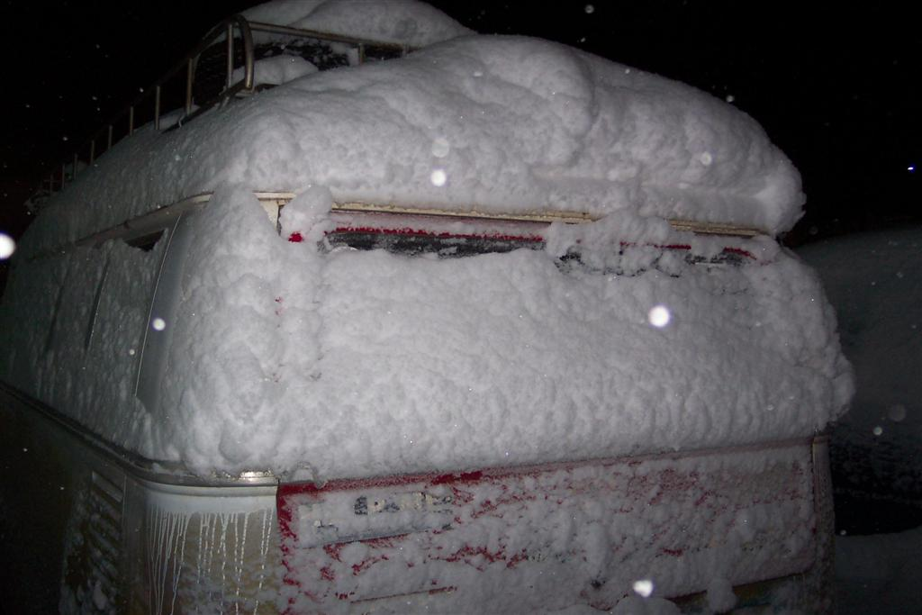 rear shot of my bus in mt shasta