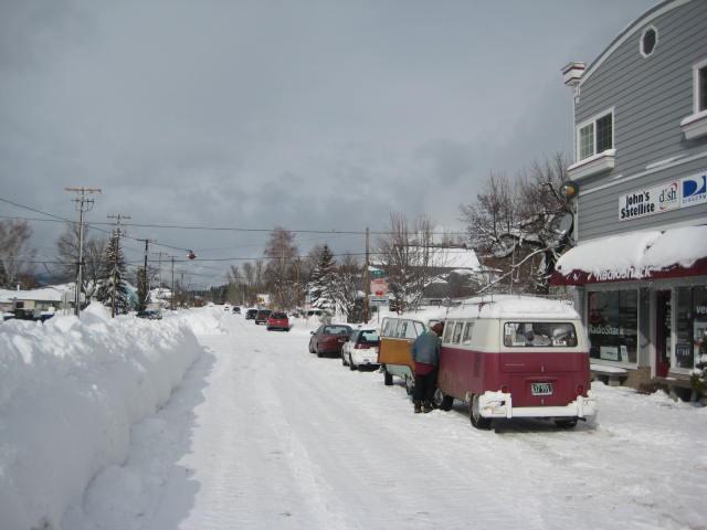 Shasta Snow Trip '08